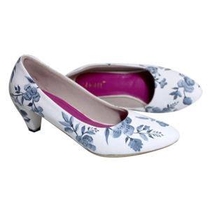 Sepatu Wanita Flat Shoes Keong Brukat Pink New Murah Grosir Casual sepatu flat wanita sepatu haihil wedding sepatu cantik