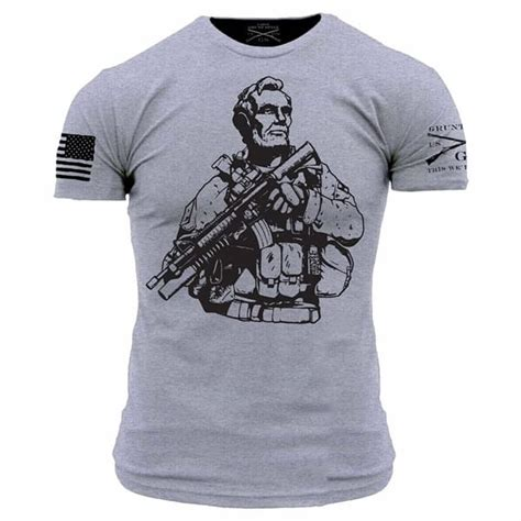T Shirt Tactical Pratama Spartan grunt style tactical lincoln t shirt govx exclusive