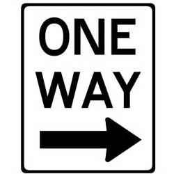 one way road clipart clipground