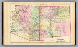 Arizona New Mexico Map by Arizona New Mexico Map