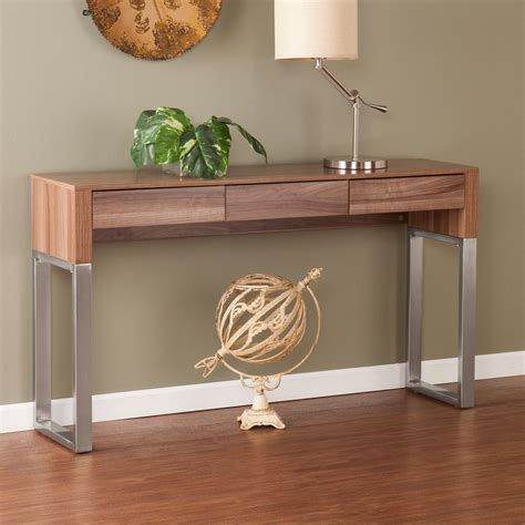 modern console table console table design modern wood and glass console table