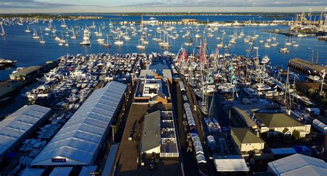 newport boat show newport international boat show reports attendance gains