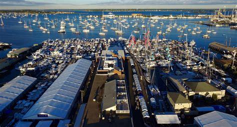 newport international boat show reports attendance gains - Newport Boat Show Attendance