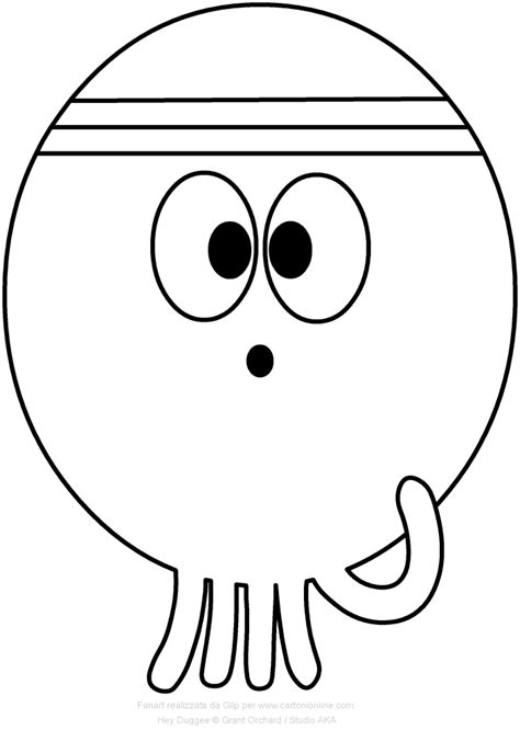 Duggee Coloring Pages