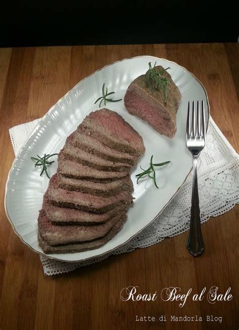 preparazione test lattosio roast beef in crosta di sale aromatizzato latte di