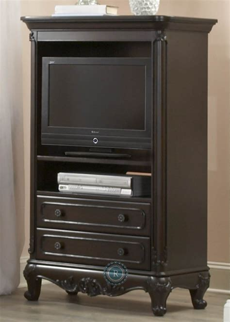 Cinderella Armoire by Cinderella Cherry Armoire From Homelegance 1386nc 7
