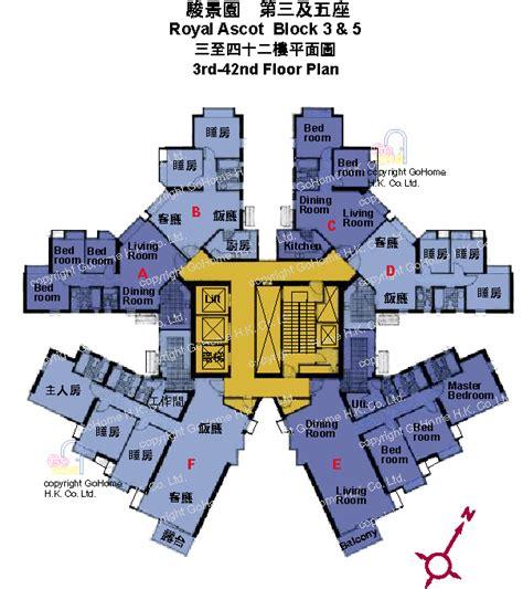 Royal Ascot Hong Kong floor plan of royal ascot gohome hk