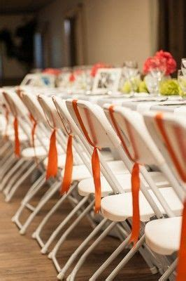 Decorate folding chairs?   Weddings, Do It Yourself