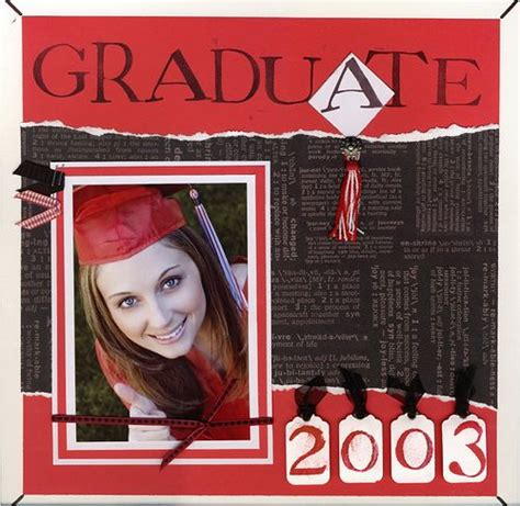 Scrapbook Layout Graduation | 12 x 12 disney cruise 2 page scrapbook layout mickey