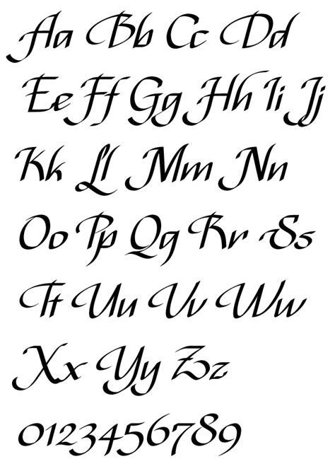 tattoo font italic italic script jackson alves alphabet exle