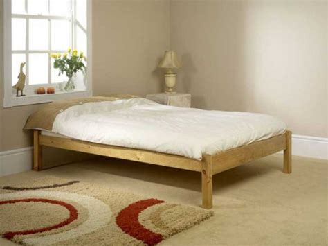 Friendship Mill Studio Bed 2ft6 Small Single Pine Wooden Small Wooden Bed Frame