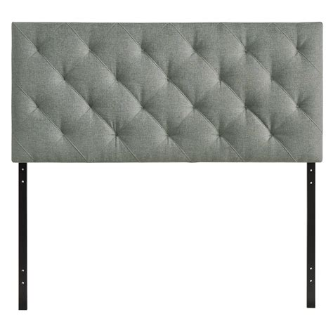gray velvet headboard inspirations and diamond tufted theodore full tufted diamond pattern fabric headboard gray