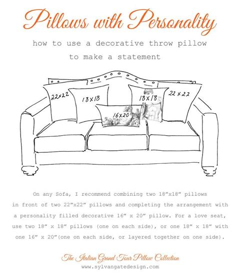 how to arrange pillows on a couch how to arrange pillows on a sofa design math pinterest