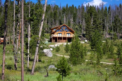 Fishing Cabin Rentals Colorado by Secluded Log Cabin W Lake Mtn Views 7 Homeaway