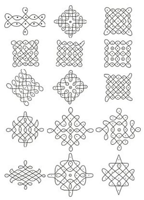 pattern of drawing rangoli rangolis traditional art designs to decorate the indian