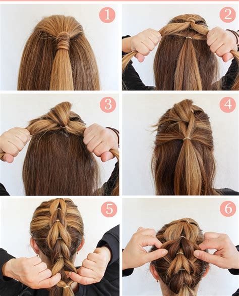 wiki hairstyles step bystep learn how to make fluffy braid hairstyle step by step