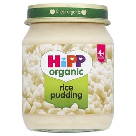 Baby Pudding - hipp organic baby food rice pudding 4 amelia s