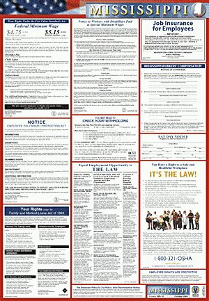 mississippi labor poster all in one 2 poster solutions