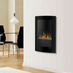 dimplex wall mount electric fireplace dimplex convex black wall mount electric fireplace vcx1525