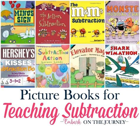 teaching math with picture books best 25 teaching subtraction ideas on