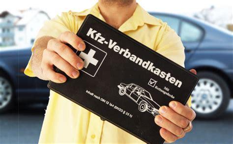 Verbandskasten Auto Apotheke by Auto Verbandkasten Anforderungen An Den Erste Hilfe