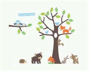 Wall Sticker Trees woodland tree wall stickers by parkins interiors