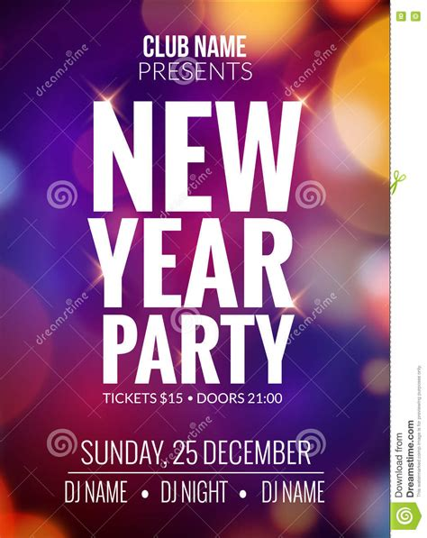 design banner event new year party design banner event celebration flyer