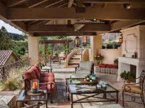 mediterranean patio photos hgtv