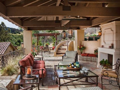 Outdoor Patio Rooms by Mediterranean Patio Photos Hgtv