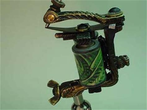 Handmade Tattoo Machines Limited Edition Collaboration By Aaron Cain Machines