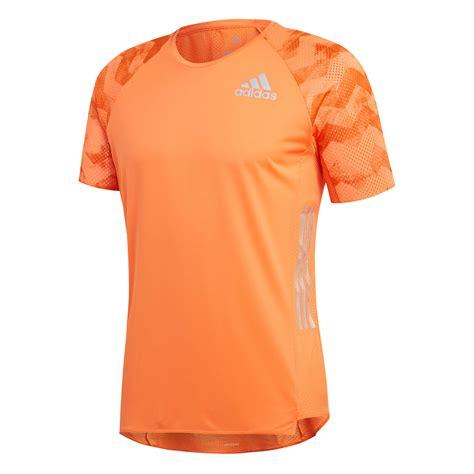 Tshirt Kaos Adidas Running Limited adidas s adizero supernova running t shirt orange