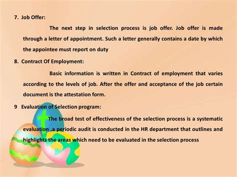 Test And Background Check Before Offer Ppt On Recruitment Selection Process