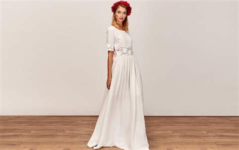 Robe Mariée Manche Longue Boheme - robe de mari 233 e boh 232 me manche longue