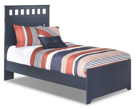 leos in bed leo twin panel bed the brick