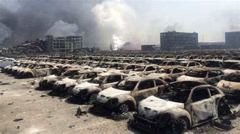 film of china explosion disaster in china tianjin port city rocked by explosions