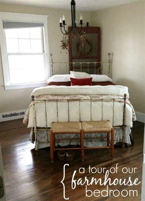 kk home decor a tour of our farmhouse bedroom andrea dekker