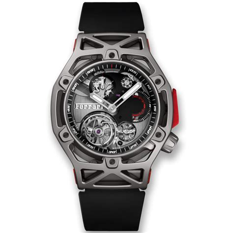 Ferrari Chronograph by Techframe Ferrari Tourbillon Chronograph Titanium 45mm