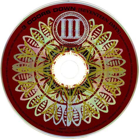 3 Doors Seventeen Days by Car 225 Tula Cd De 3 Doors Seventeen Days Portada