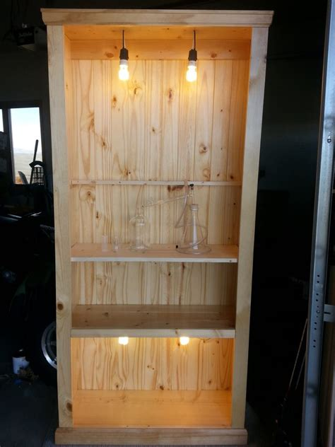build industrial traditional rustic bookcase part