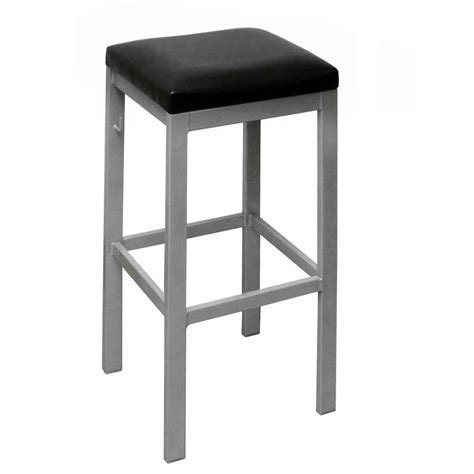 metal frame bar stools metal frame backless bar stool