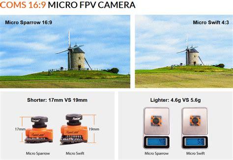 Runcam Sparrow Micro 16 9 Cmos Fpv 2 1mm Wdr 700 Tvl runcam micro sparrow 700tvl fpv