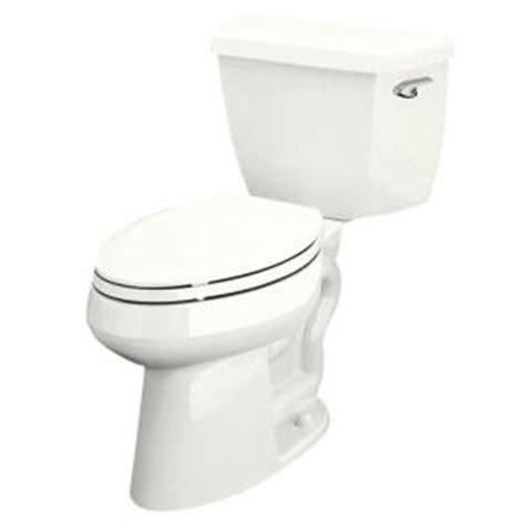 comfort toilets home depot kohler highline classic 2 piece 1 6 gpf elongated toilet