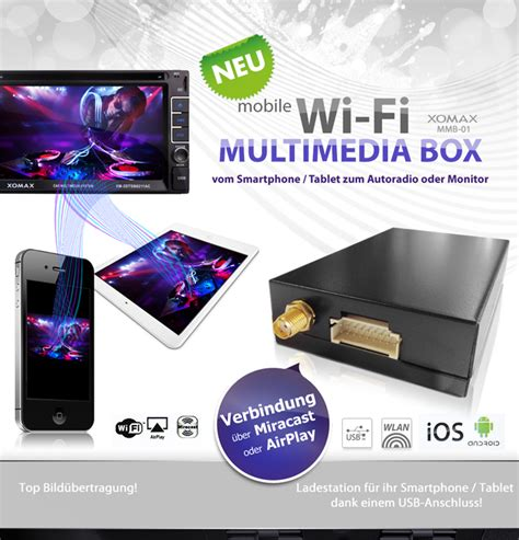 Mobile Wifi Multimedia Box mirrorlink mobile wifi multimedia box wlan android handy