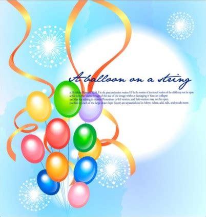 Balloonable Pita Balon Ribbon Balon festival kembang api balon warna warni pita latar belakang vektor vector latar belakang vektor