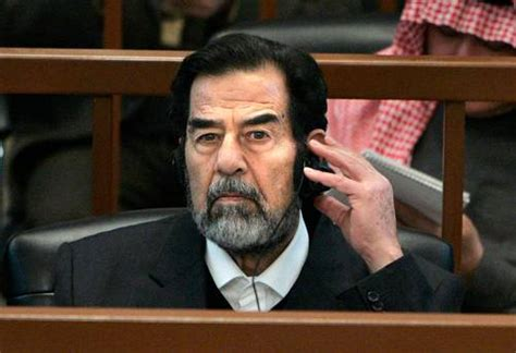 How Saddam Spent by Saddam Spent His Last Days Listening To J Blige