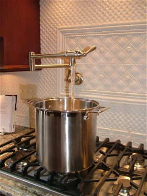 Stove Pot Filler Faucet by Pot Filler Faucet Stove Kitchen