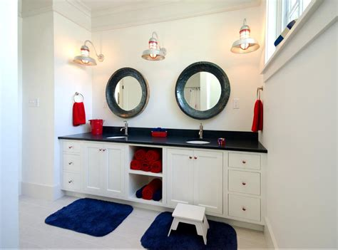 Nautical Bathrooms Decorating Ideas by Delorme Designs Nautical Bathrooms