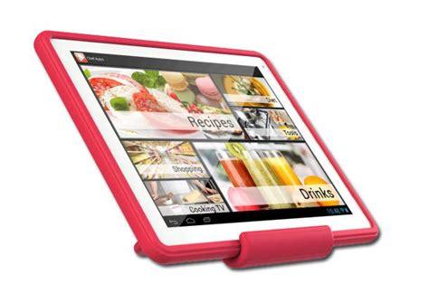 tablette special cuisine 192 table tte avec l archos chefpad tablette pour la