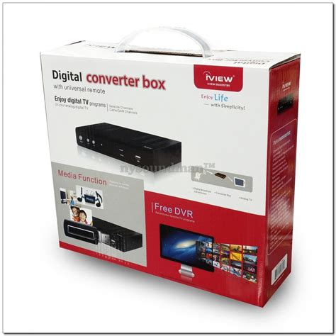 Tv Digital Box Iview Digital To Analog Converter Box Hd To Analog Tv 3500stbii Ebay