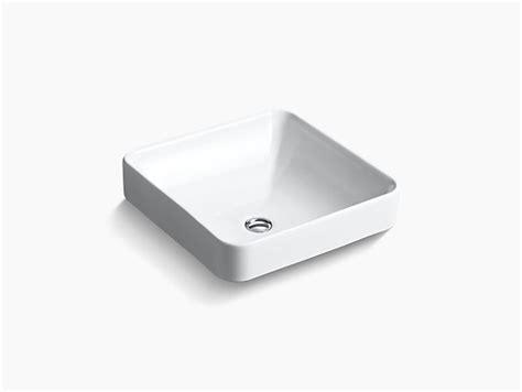 kohler square vessel sink k 2661 vox square vessel sink kohler